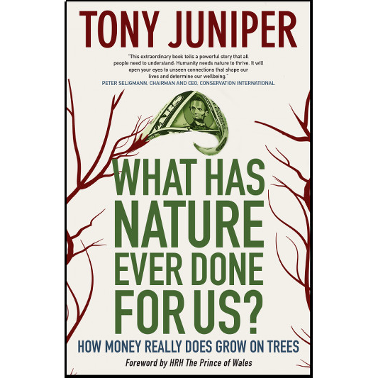Indie Groundbreaking Book: What Has Nature Ever Done For Us?