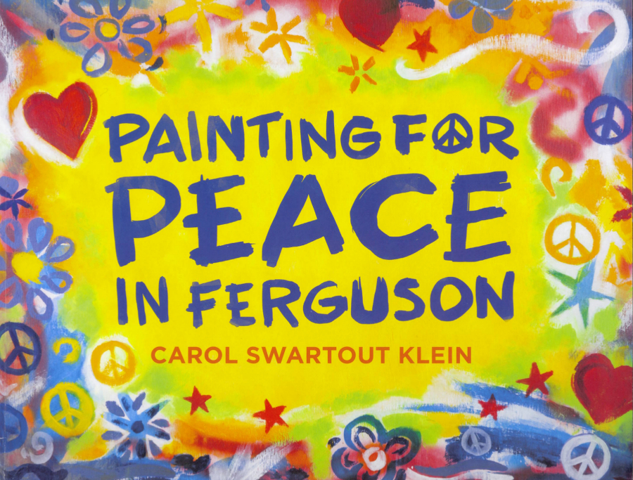Painting for Peace in Ferguson - Magazine cover